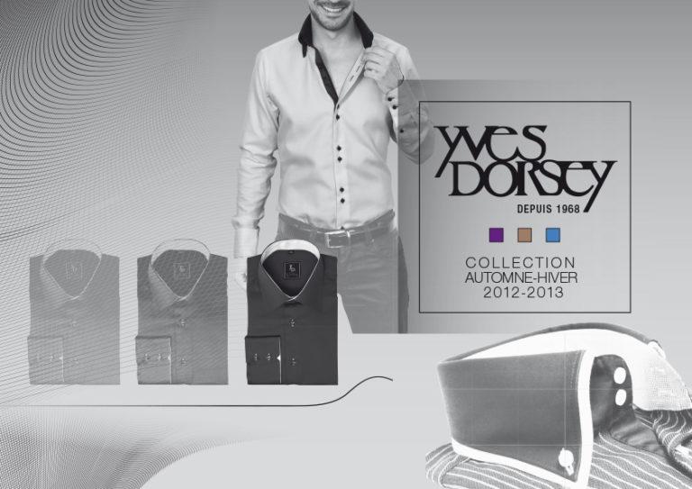 Création de brochure - Yves Dorsey