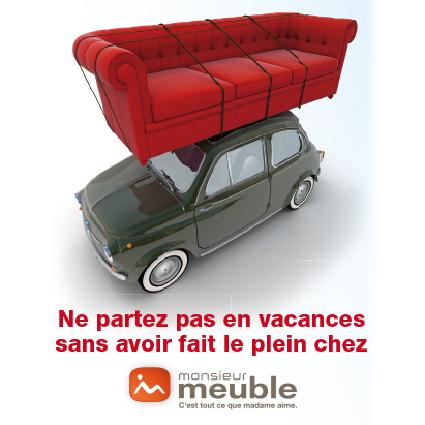 Mailing 15x15 cm - M. Meuble