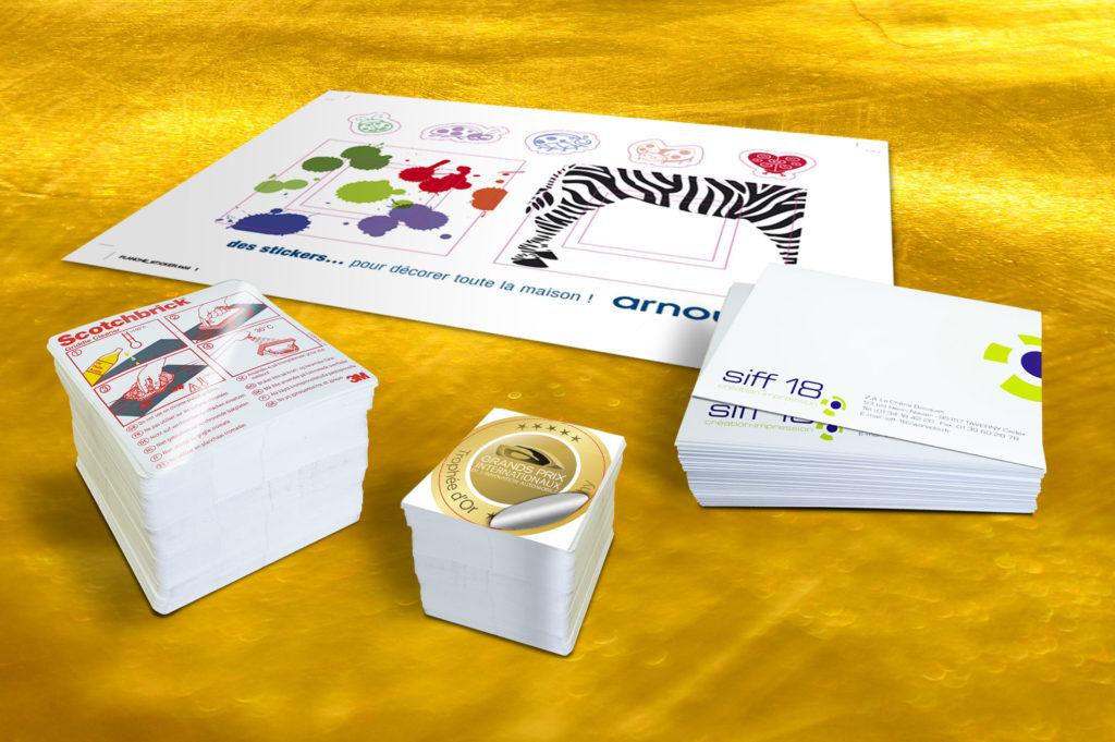 Etiquettes et Stickers/adhésifs